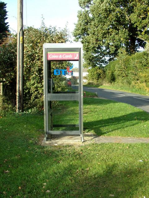 Telephone Box on New Road