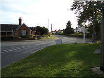 TL9125 : Brook Road, Aldham by Geographer