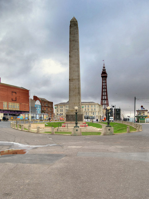 Cenotaph and Tower, Blackpool