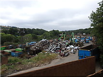 SE1437 : Crossley Evans Scrap Yard, Shipley by Stephen Armstrong