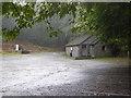SD2991 : Brown Howe car park by Chris Allen