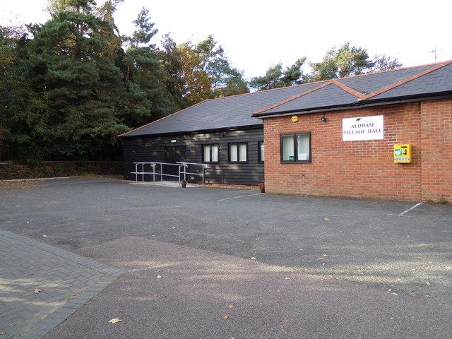 Aldham Village Hall & Defibrillator