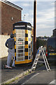 TA1230 : Telephone Kiosk on Wheldale Avenue, Hull by Ian S