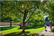 ST7734 : Wiltshire : Stourhead - Stableyard by Lewis Clarke