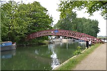 SP4907 : Medley Footbridge by N Chadwick