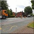 SJ9594 : Traffic on Dowson Road by Gerald England