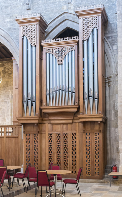 Organ, St Mary's church, Melton Mowbray