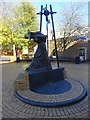 SO9496 : Statue to the impoverished working women of Bilston by John M
