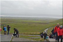 R0491 : Cliffs of Moher Viewing point by N Chadwick