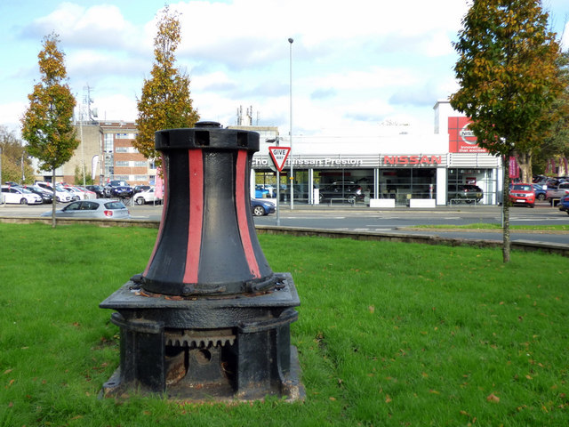 An old capstan by the Ribble