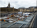 NS5965 : Queen Street railway station redevelopment by Thomas Nugent