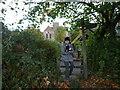 SO3830 : Public Footpath by Dore Abbey by Fabian Musto