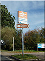 TL8928 : Chappel & Wakes Colne Railway Station signs by Adrian Cable