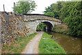 SJ8357 : Bridge 87 on the Macclesfield Canal by Jeff Buck