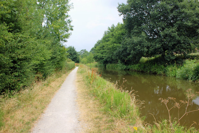 The Cheshire Ring Canal Walk at Scholar Green