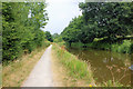 SJ8357 : The Cheshire Ring Canal Walk at Scholar Green by Jeff Buck