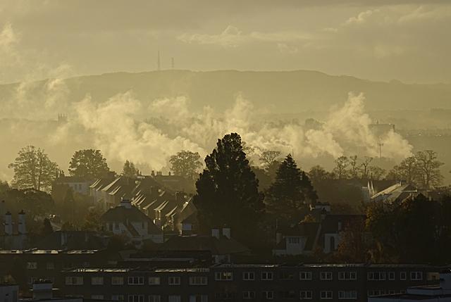 Ravelston in the Mist
