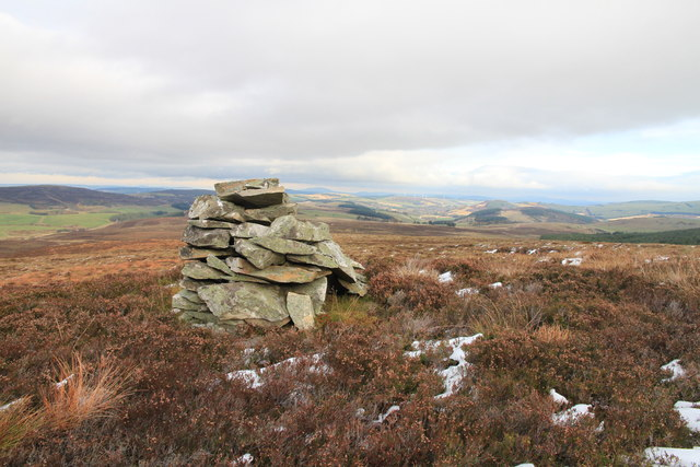 Pile of Stones on the Slopes of Craig Watch
