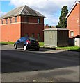 ST3390 : Western Power Distribution electricity substation, Church Street, Caerleon by Jaggery