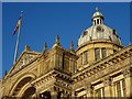 SP0686 : The dome of Birmingham's Council House by Philip Halling