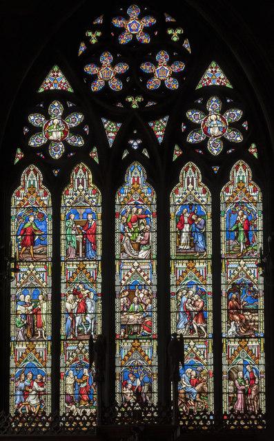 East Window, St Mary's church, Melton Mowbray