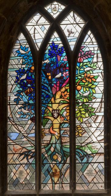 Tree Of Life Window St Mary S Church