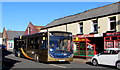 SO2701 : X24 bus in Pontnewynydd by Jaggery