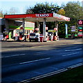 SO2701 : Osborne Road Texaco filling station, Pontnewynydd by Jaggery