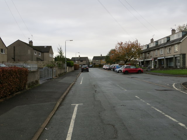 Central Drive at Croftlands in Ulverston