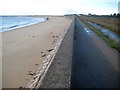 TM1513 : Clacton-on-Sea: Sea defence wall approaching Jaywick by Nigel Cox