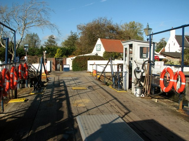 The Reedham Ferry