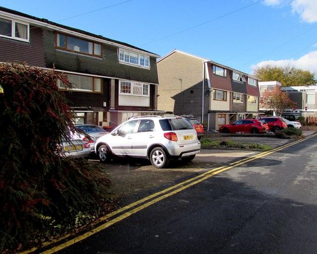 Three-storey houses, Backhall Street, Caerleon