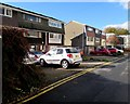 ST3490 : Three-storey houses, Backhall Street, Caerleon by Jaggery