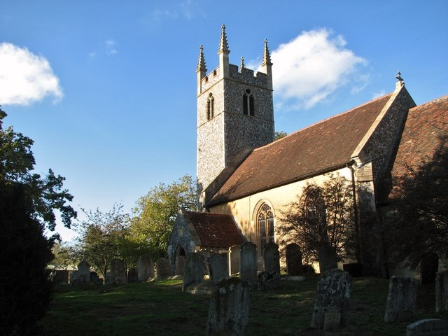 St Remigius' church at Dunston (churchyard)