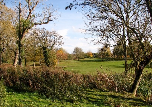 Golf course at Dunston Hall Hotel