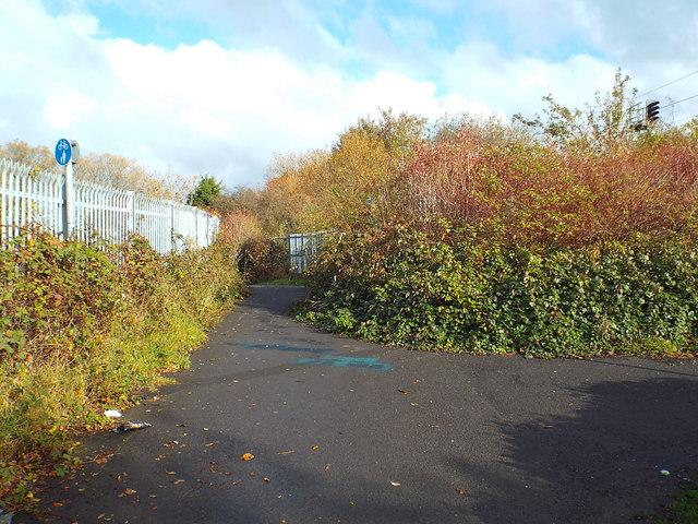 Path near South Hylton