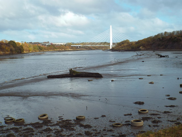 Mudflats on the River Wear, near Sunderland