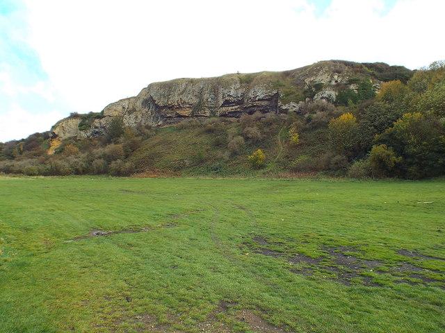 Claxheugh Rock, near Sunderland