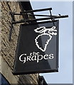SD9505 : Sign for the Grapes public house, Lees by JThomas