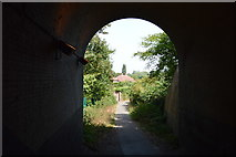 TQ0487 : Tunnel under Denham Station by N Chadwick