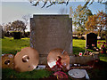 SO8871 : John Bonham's Grave by Phil
