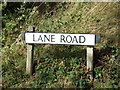 TL8828 : Lane Road sign by Geographer