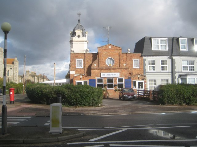 Clacton-on-Sea: The Old Lifeboat House