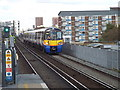 TQ3383 : London Overground train at Hoxton by Malc McDonald