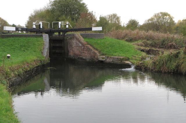 Lock 15 on the Northampton Arm