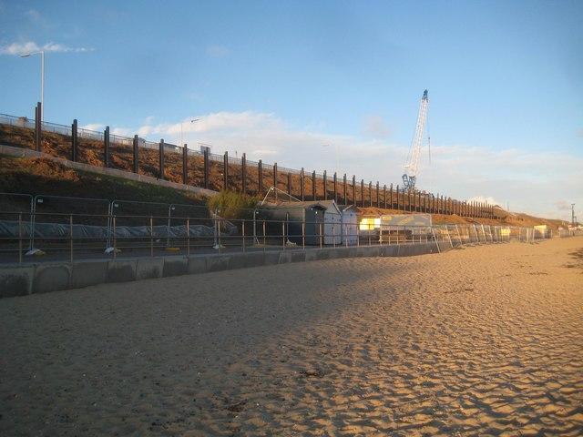 Holland-on-Sea: Cliff stabilisation works 2018 (1)