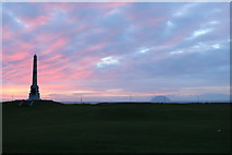 NX1897 : Sunset at Stair Park, Girvan by Billy McCrorie