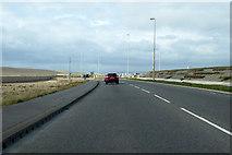 SY6774 : A354 Portland Beach Road by Robin Webster