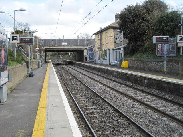 Raheny railway station, County Dublin
