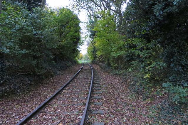 Ironstone railway line